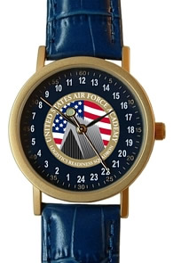 Militarytime 24 hour dial with Date - Specialty Style Promotional Watch 1003B24-GB12T