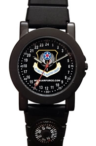 Militarytime 24 hour dial with Date - Specialty Style Promotional Watch 1039M24-KKC