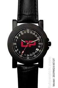 Militarytime 24 hour dial with Date - Specialty Style Promotional Watch 2039M24-KK12T