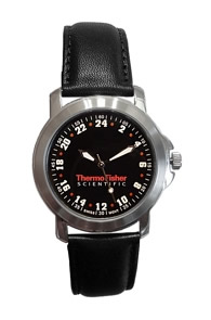 Militarytime 24 hour dial - Specialty Style Promotional Watch 24MBLKL3