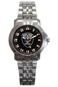 Militarytime 24 hour dial - Specialty Style Promotional Watch 24MBLKM3