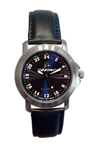 Militarytime 24 hour dial - European Style Promotional Watch 24MBLUL3