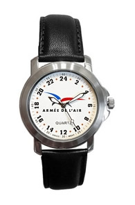 Militarytime 24 hour dial - Specialty Style Promotional Watch 24MWHTL3