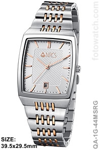 Two-Tone Mens Corporate Premium Watch qa-1G-44MSRG