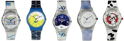 Swatch Style Logo watches with strap Imprint