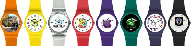 Affordable Swatch Style Logo Watches